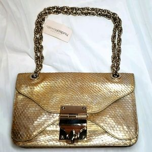Alexis Hudson Hera Gold/Silver Purse NEW